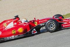 Formula 1, 2015: Sebastian Vettel, Ferrari Royalty Free Stock Image