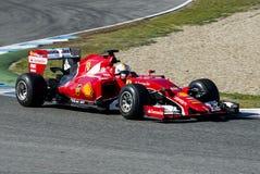 Formula 1 2015: Sebastian Vettel Stock Photography