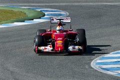 Formula 1 2015: Sebastian Vettel Stock Photos