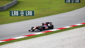 Formula 1. Sepang. April 2010 royalty free stock photography