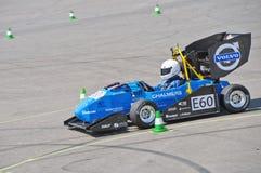 Formula Student Electric race car Royalty Free Stock Photos