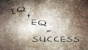 Formula for success Stock Images