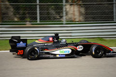 Formula V8 3.5 car driven by Giuseppe Cipriani Royalty Free Stock Images