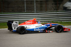 Formula V8 3.5 car driven by Pietro Fittipaldi Royalty Free Stock Images