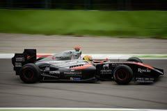 Formula V8 3.5 car driven by Vítor Baptista Stock Images