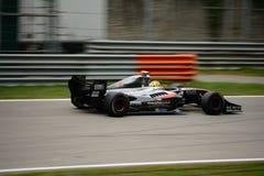 Formula V8 3.5 car driven by Vítor Baptista Royalty Free Stock Photo