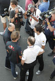 Formula 1 World Championship in Monza Royalty Free Stock Images