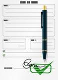 Formular stock abbildung