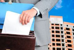 Formular des Vertrages Lizenzfreie Stockfotos