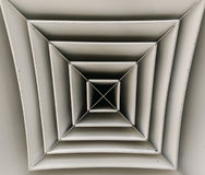 Formulare der Ventilation Stockfotografie