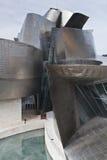 Formulare des Guggenheim Museums Bilbao lizenzfreie stockfotos