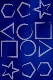 formularz geometryczne royalty ilustracja