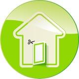formularzowa domowa etykietka ilustracja wektor