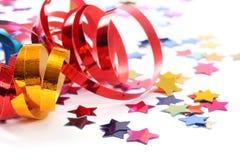 formularzowe confetti gwiazdy Fotografia Stock