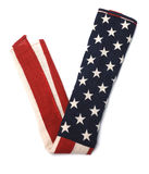 formularzowi flaga amerykańska znaki v Obraz Royalty Free