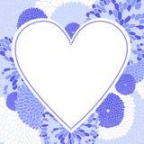 formularzowy ramowy serce Zdjęcia Stock