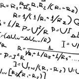 Formulas. Royalty Free Stock Photography