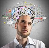 Formulate new ideas royalty free stock photo