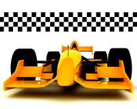 Formule 1 Car001 Vector Illustratie
