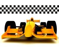 Formule 1 Car001 Images libres de droits