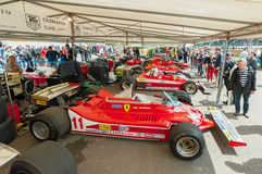 Formule 1 de Ferrari Photos stock