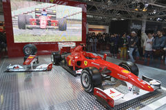 Formule 1 de Ferrari F10 Photo stock