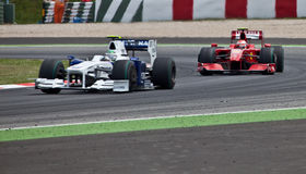 Formule 1: Ferrari Royalty-vrije Stock Fotografie