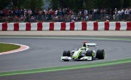 Formule 1: GP hoofdkaas Stock Afbeeldingen