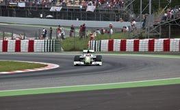Formule 1: GP hoofdkaas Stock Foto