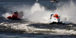 Formule 1 het Kampioenschap 2009 van de Wereld Powerboat Stock Foto