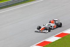 Formule 1, Narain Karthikeyan, team Hispania Stock Foto's