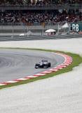 Formule 1. Sepang. April 2010 Royalty-vrije Stock Fotografie