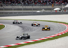 Formule 1. Sepang. Avril 2010 Photos libres de droits