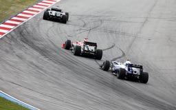 Formule 1. Sepang. Avril 2010 Image libre de droits