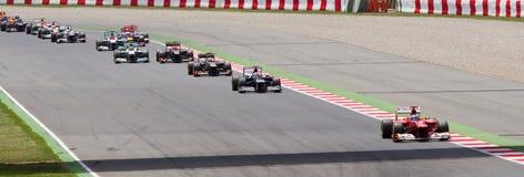 Formule 1 Spaanse Grand Prix Stock Foto's