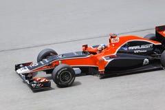 Formule 1, Timo Glock, team Marussia Royalty-vrije Stock Foto's