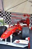 Formule 1 van Ferrari auto Royalty-vrije Stock Afbeeldingen