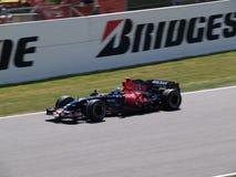 Formule 2008 1 Prix grand dans Catalunya photos libres de droits