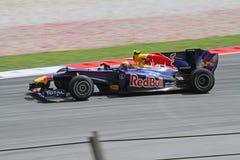 Formule 2010 1 - Prix grand malaisien 12 Photographie stock libre de droits