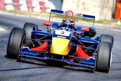 Formule 3 ras rond het Huis van het Parlement Stock Foto