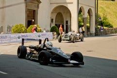 Formule 3 auto bij de Historische Grand Prix 2017 van Bergamo Royalty-vrije Stock Fotografie