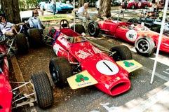 Formule 2 d'années '60 au drapeau 2017 d'argent de Vernasca Photographie stock