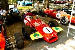 Formule 2 d'années '60 au drapeau 2017 d'argent de Vernasca Photographie stock libre de droits
