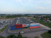 Formule de centre de cinéma à Moscou Photos libres de droits