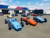 Formule de classique de Silverstone Photographie stock libre de droits