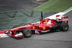 Formule 1 de Feraari photo libre de droits