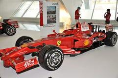 Formule 1 de Ferrari d'exposition Photos stock