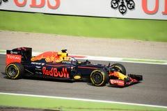 Formule 1 de Red Bull à Monza conduit par Daniel Ricciardo Photos stock