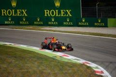 Formule 1 de Red Bull à Monza conduit par Max Verstappen Photo stock