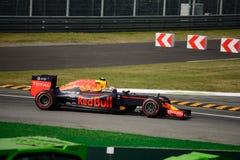 Formule 1 de Red Bull à Monza conduit par Max Verstappen Images stock